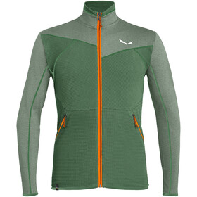 SALEWA Puez Hybrid Polarlite Full Zip Jacket Men duck green
